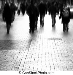 cielna, zajęta ulica, miasto