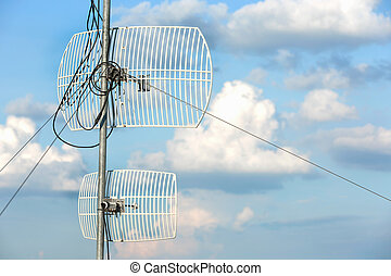 cielo, antena