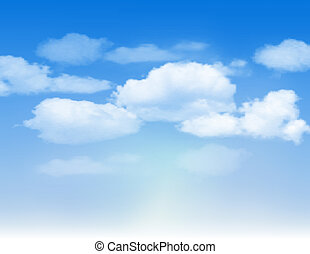 cielo azul, clouds.
