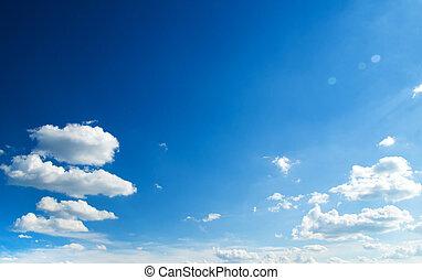 cielo azul, plano de fondo