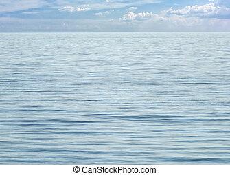 cielo azul, vista marina