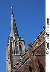 cielo blu, curch, olandese