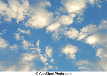 cielo blu, fondo