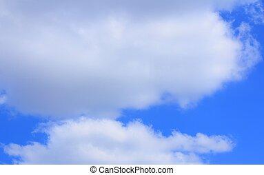 cielo blu, il, fondo