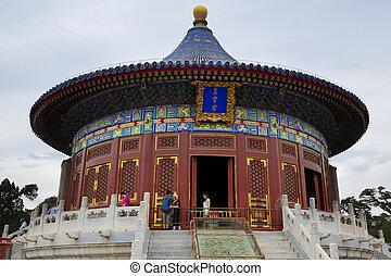 cielo, china, templo, beijing