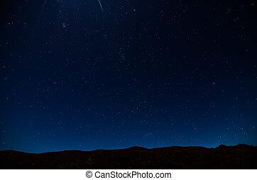 cielo de la noche