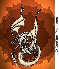 cielo, dragón