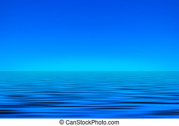 cielo, e, mare, fondo