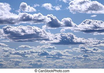 cielo, e, nubi