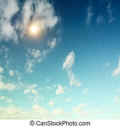cielo, e, sole