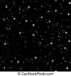cielo estrellado, seamless