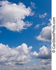 cielo, fondo., natura, composizione