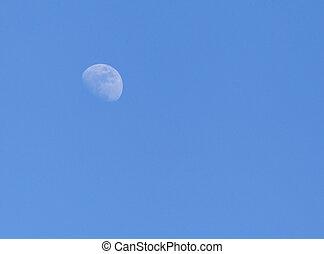 cielo, luna
