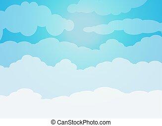 cielo, nubi
