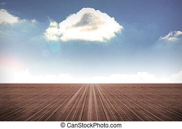 cielo, nublado, plano de fondo