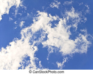 cielo nuvoloso, fondo