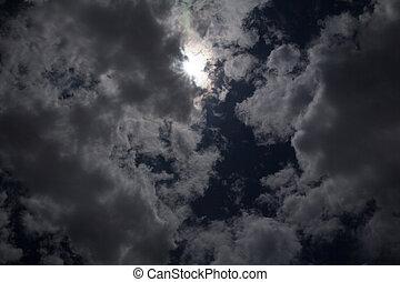 cielo, oscuridad