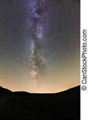 cielo stellato, paesaggio