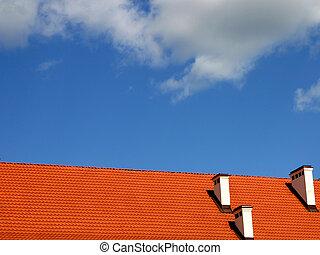 cielo, techo