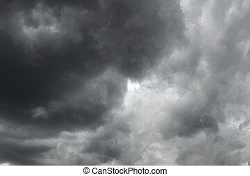 cielo, tormenta