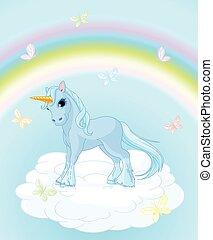 cielo, unicorno