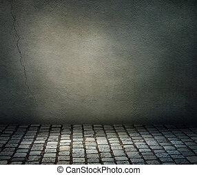 ciemne tło