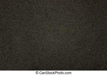 ciemny, asfalt, struktura