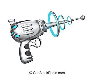 ciencia, arma de fuego, ficción