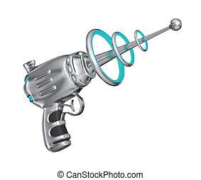 ciencia ficción, arma de fuego