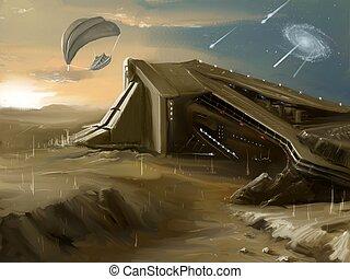 ciencia ficción, arte