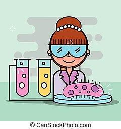 ciencia, laboratorio, investigación