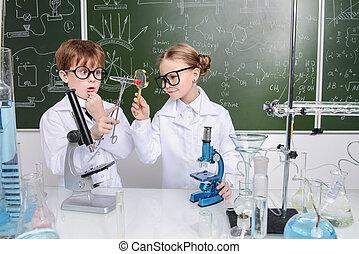 ciencia, y, educación