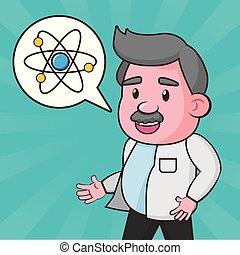 científico, laboratório, ciência