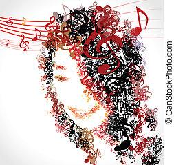 cieszyć się, 02, życie, muzyka, melodia