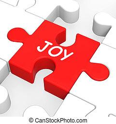 cieszyć się, radość, zagadka, radosny, zabawa, szczęśliwy, widać