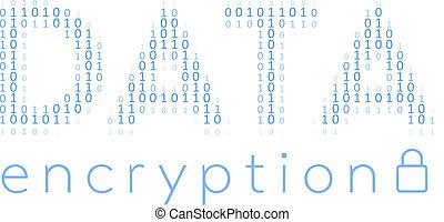 cifratura, codice sicurezza, dati, digitale