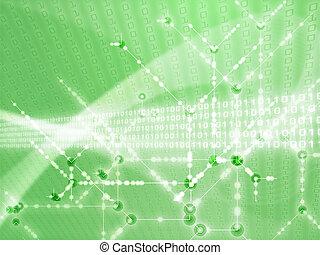 cifre, dati, illustrazione