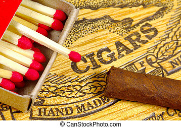 Cigar and Matches