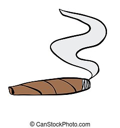 cigar cartoon