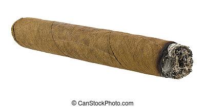 Cigar isolated on white background