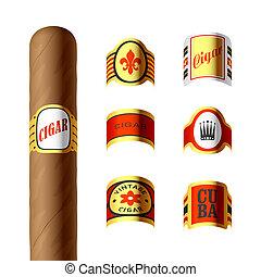 Cigar labels