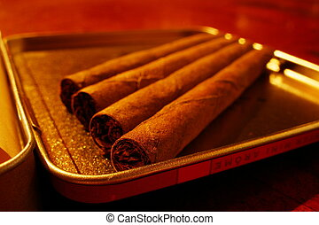 cigar - orange cigars