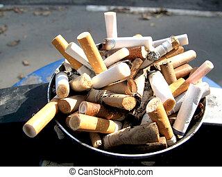 cigaret, stubs