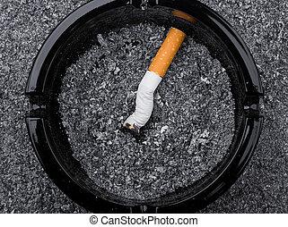 cigarett, askkopp
