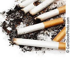 cigarette buts