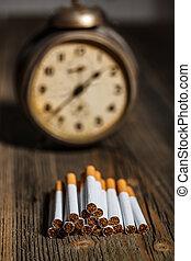 Cigarette concept time to break the habit
