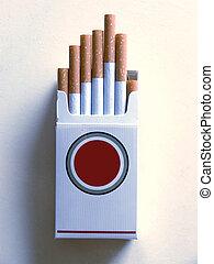Filter of cigarette