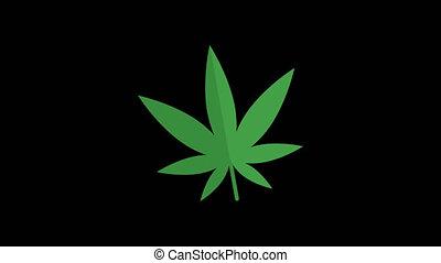 Cigarette. Marijuana. Drugs. Syringe. Alcohol. Set Objects. Transparent Background. 4 Animations. Motion Graphics.