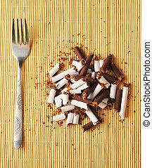 Cigarette meal concept