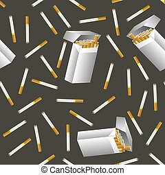 Cigarette Seamless Pattern
